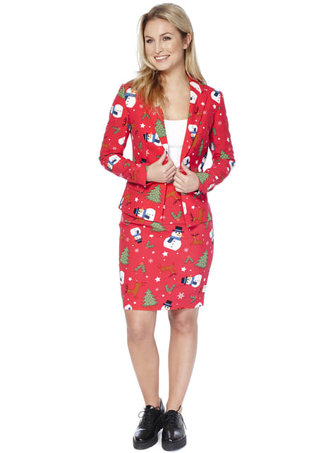 Fato Christmiss Opposuit para mulher