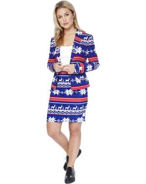 Costum femeie Crăciun