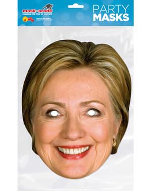 Papierowa maska Hillary Clinton dla dorosłych