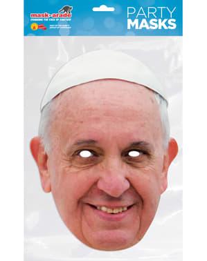 Maska pro dospělé papež František