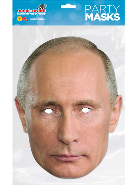 Adult's Vladimir Putin Mask
