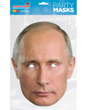 Ansiktsmask Vladimir Putin för vuxen