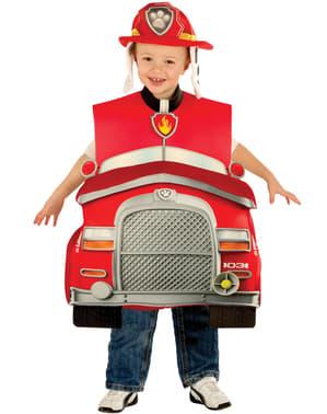 Costume da Marshall de Paw Patrol - La Paw Patrol deluxe da bambino