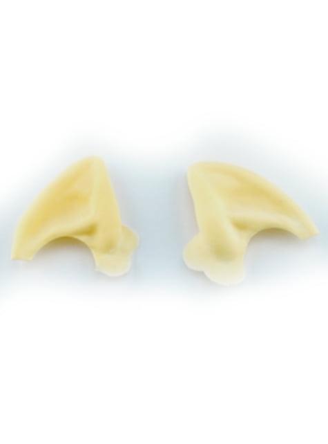 Pointes petites oreilles en latex de monstre de l'espace