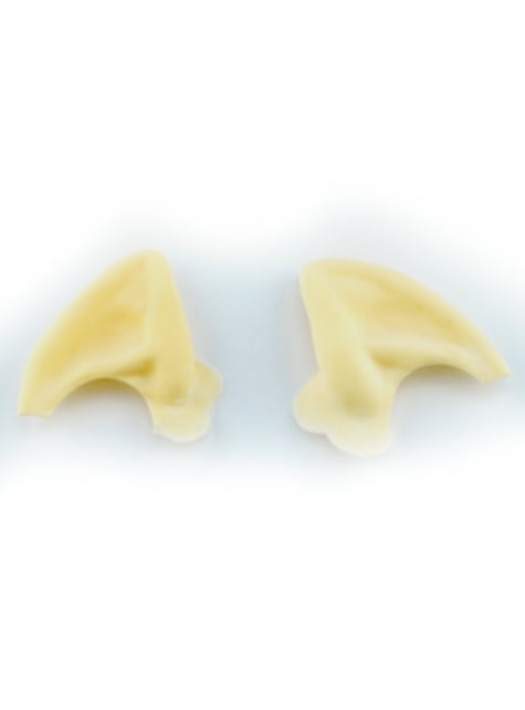 Puntas de orejas de monstruo del espacio pequeñas de látex