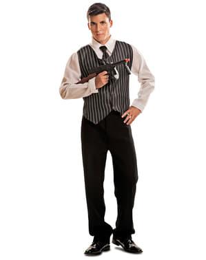 Jaren 20 gangster kostuum voor heren
