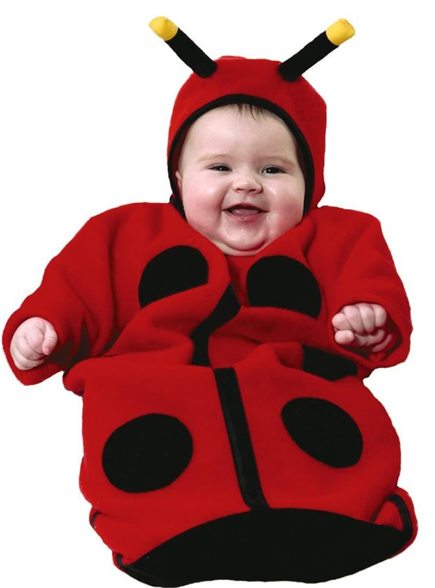 Disfraz de beb mariquita funidelia - Disfraz de mariquita bebe ...