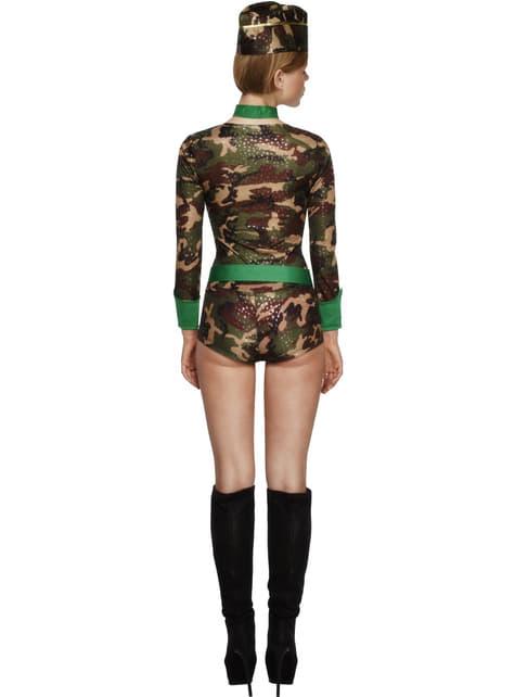 Groznica Combat Gal odraslih kostim