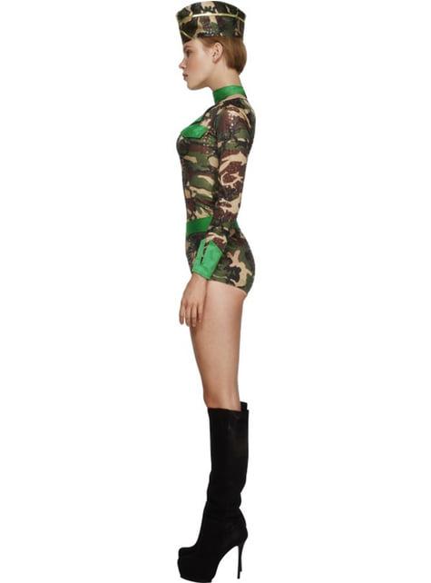 Disfraz de chica de combate Fever