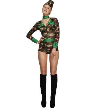 Fever Combat Gal Adult Costume