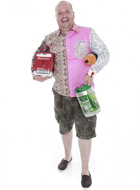Camisa multi-estampada para hombre