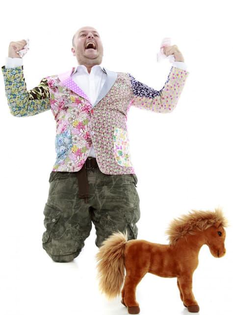 Veste patchwork pour homme