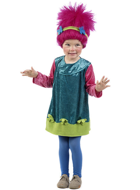 Baby's Pink Troll Costume