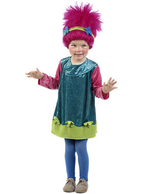 Costum de troll roz pentru bebeluși