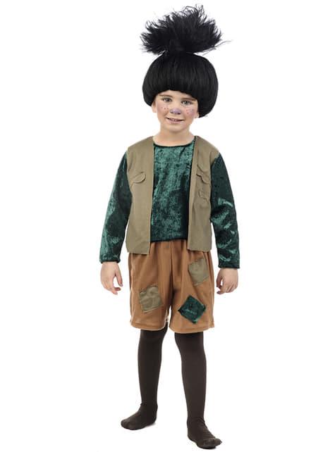 Baby's Black Troll Costume