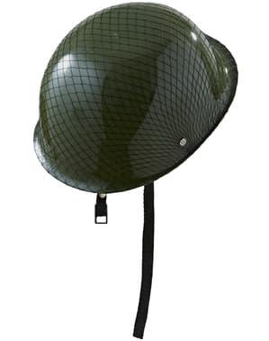 Capacete de militar para adulto