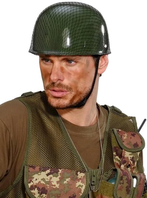 Casco de militar para adulto - para tu disfraz