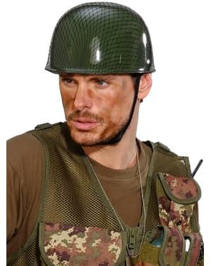 Militær hjelm til voksne