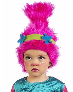 Peruca de troll para menina