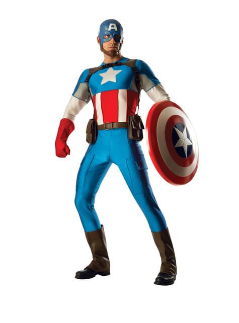Men's Captain America Grand Heritage Costume