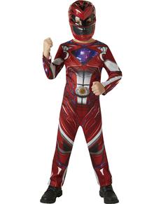 Disfraz de Power Ranger rojo Movie para niño dd35cbb99731