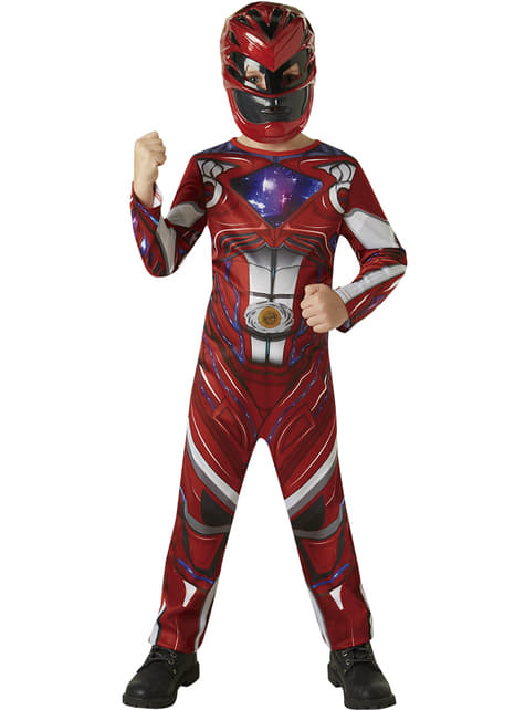 Disfraz de Power Ranger rojo Movie para niño