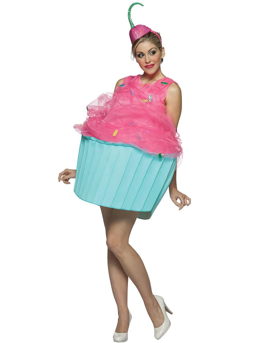 costume cupcake pour femme funidelia. Black Bedroom Furniture Sets. Home Design Ideas