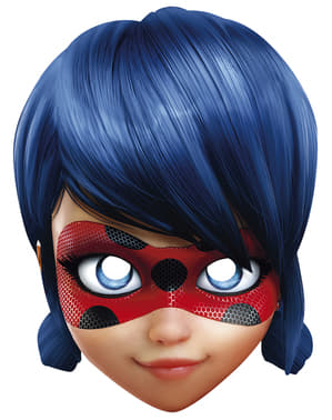 Máscara de Ladybug para menina