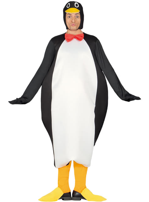 Strój pingwin - odkrywca dla dorosłych