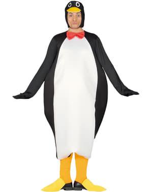 Costum de pinguin împărat pentru adult