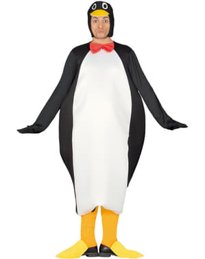 Disfraz de pingüino emperador para adulto