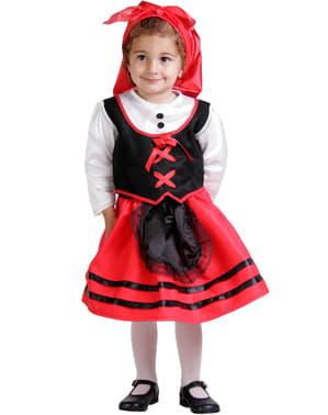 Costume da pastorella bebè