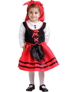 Disfraz de pastora bebé