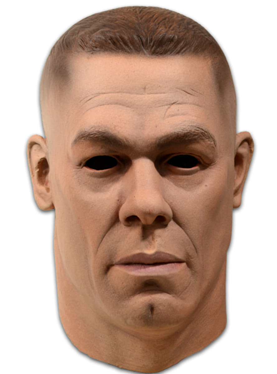 Adult\'s Latex John Cena WWE Mask. Fast delivery   Funidelia