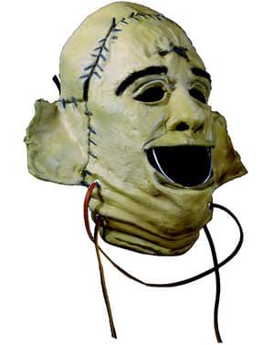 Mask Leatherface Motorsågsmassakern basic i latex för vuxen