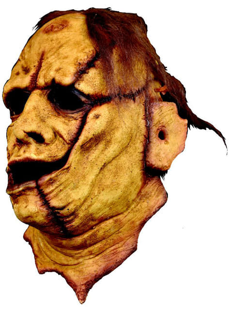 3/4 Leatherface The Texas Chainsaw Massacre latex masker voor volwassenen