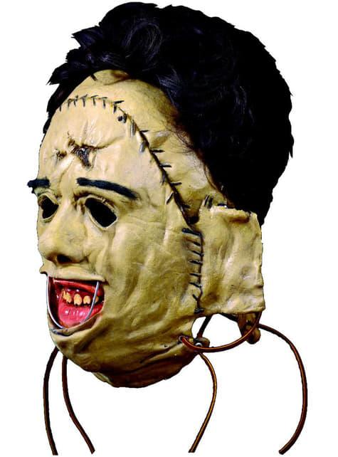 Maska lateksowa 1974 Leatherface Teksańska Masakra Piłą Mechaniczną dla dososłych