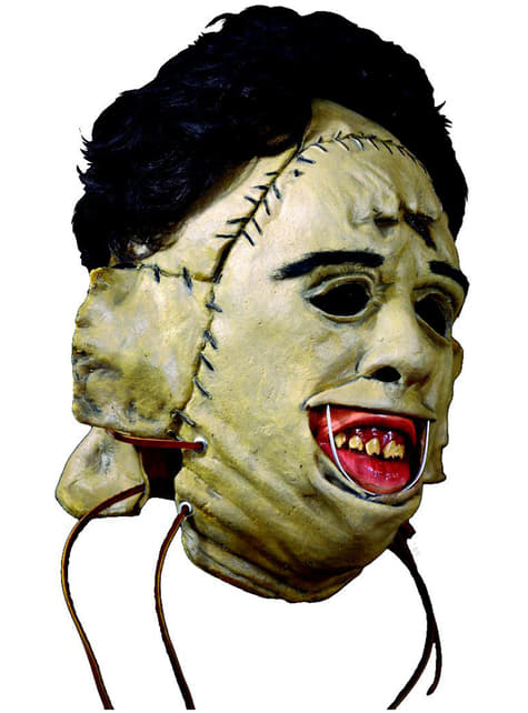 Masque Leatherface 1974 Massacre à la tronçonneuse en latex adulte