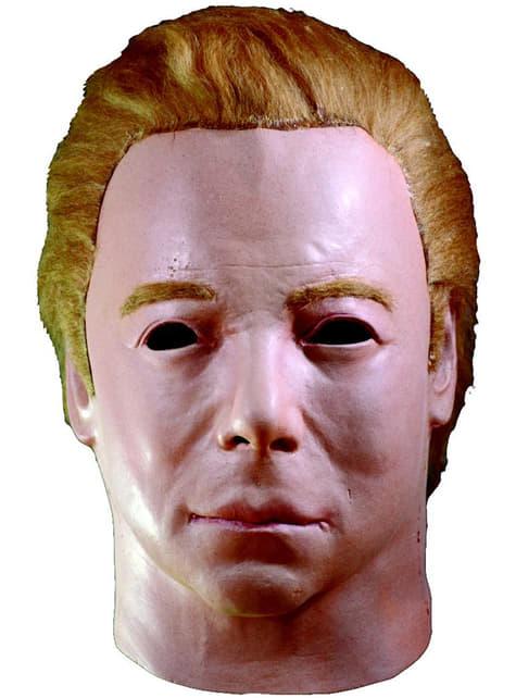 Máscara de Kirk 1975 Star Trek de látex para adulto