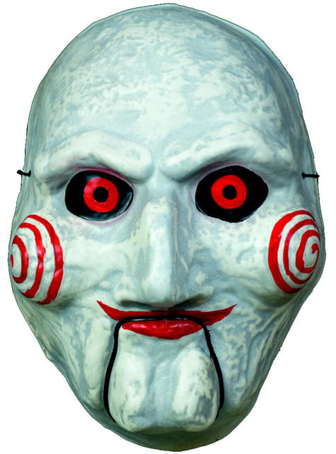 Máscara de Billy Saw para adulto
