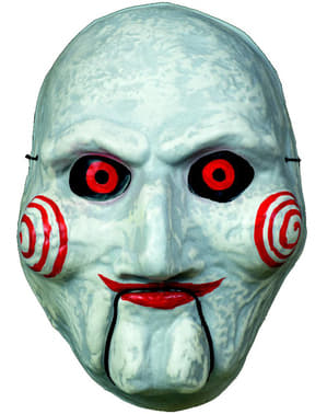 Classic Billy Saw masker voor volwassenen