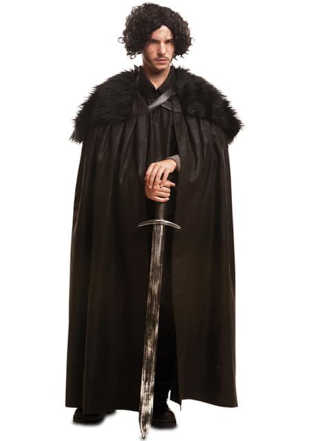 Capa de Guardián de la noche para hombre