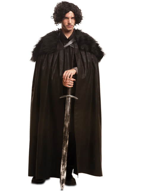 Mens Guardian of the Night Cape