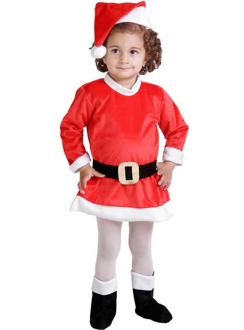 Weihnachtsfrau Kostüm für Babys
