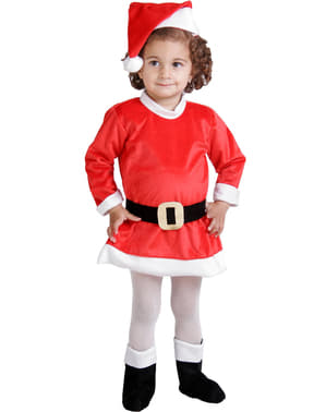 Mrs Claus baby costume