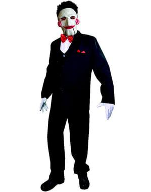 Classic Billy Saw kostuum voor heren