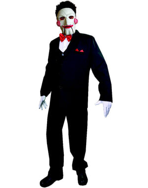 Disfraz de Billy Saw classic para hombre