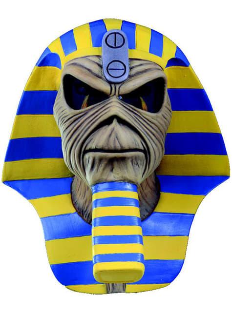 Máscara de Powerslave faraón Iron Maiden para adulto
