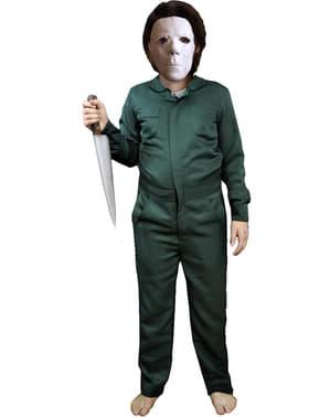 Maskeraddräkt Michael Myers grön Tall Halloween II för barn
