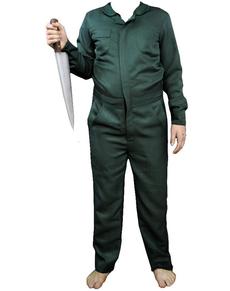 Disfraz de Michael Myers verde pino Halloween II classic infantil
